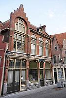 Nederland  Hoorn- September 2020. Schrickx. Winkel in Hoorn waar thee, koffie en tabakswaren werd verkocht. Foto : ANP/ Hollandse Hoogte / Berlinda van Dam