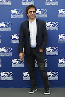 Atom Egoyan attends a photocall for the movie 'Remember' during the 72nd Venice Film Festival at the Palazzo Del Cinema in Venice, Italy, September 10, 2015.<br /> UPDATE IMAGES PRESS/Stephen Richie