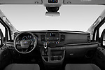 Stock photo of straight dashboard view of 2021 Ford Transit 350-XLT 5 Door Passenger Van Dashboard