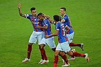 16th November 2020; Couto Pereira Stadium, Curitiba, Brazil; Brazilian Serie A, Coritiba versus Bahia; Elber do Bahia celebrates his equalising goal in the 36th minute 1-1