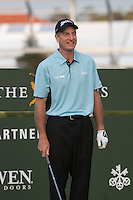 PONTE VEDRA BEACH, FL - MAY 6: Jim Furyk on the 10th tee at the start of his practice round on Wednesday, May 6, 2009 for the Players Championship, beginning on Thursday, at TPC Sawgrass in Ponte Vedra Beach, Florida.   Furyk played with Tiger Woods and Nick Watney.