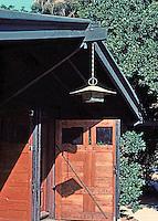 Greene & Greene: Gamble House. Garage.  Photo '87.