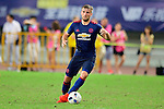 Manchester United defender Luke Shaw during the International Champions Cup China 2016, match between Manchester United vs Borussia  Dortmund on 22 July 2016 held at the Shanghai Stadium in Shanghai, China. Photo by Marcio Machado / Power Sport Images