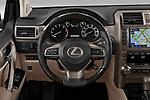 Car pictures of steering wheel view of a 2020 Lexus GX - 5 Door SUV Steering Wheel