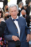 """CANNES, FRANCE - JULY 14: Director Costa Gavras at the """"A Felesegam Tortenete/The Story Of My Wife"""" screening during the 74th annual Cannes Film Festival on July 14, 2021 in Cannes, France.<br /> CAP/GOL<br /> ©GOL/Capital Pictures"""