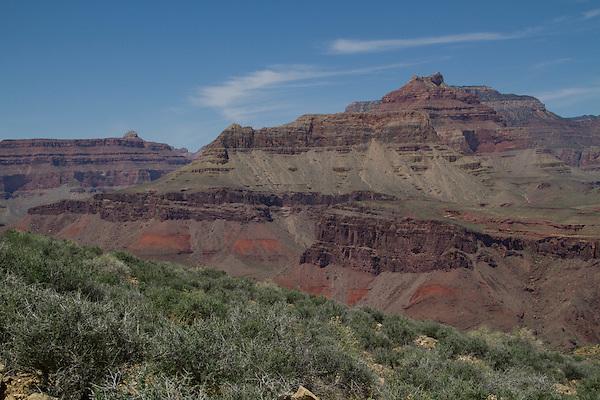 Sagebrush on the Tonto Plateau, Grand Canyon National Park, northern Arizona. .  John offers private photo tours in Grand Canyon National Park and throughout Arizona, Utah and Colorado. Year-round.