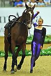 7 October 2010: Jeanine Van Der Sluijs (CAN) competes during Vaulting in the World Equestrian Games in Lexington, Kentucky