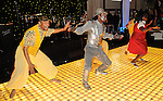 """The cast of """"The Wiz"""" from the Ensemble Theater performs at the Social Book 2010 launch party at Discovery Green Park Thursday Jan. 21,2010.(Dave Rossman/For the Chronicle)"""