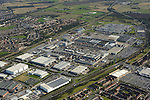 Aerial: Jaguar Land Rover, Halewood