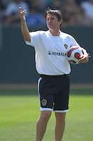Head coach Frank Yallop at Los Angeles Galaxy's first practice with David Beckham at the Home Depot Center in Carson, CA on Friday, July 16, 2007.