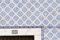 azulejos bairro alto lisbon portugal