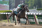 June 6, 2015: Honor Code, Javier Castellano up, wins the 122nd running of the Grade I  Metropolitan Handicap at Belmont Park, Elmont, NY. Trainer is Shug McGaughey This is a 'win and you're in' Breeders' Cup Mile division race. Joan Fairman Kanes/ESW/CSM