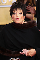 LOS ANGELES, CA - JANUARY 18: Liza Minnelli at the 20th Annual Screen Actors Guild Awards held at The Shrine Auditorium on January 18, 2014 in Los Angeles, California. (Photo by Xavier Collin/Celebrity Monitor)