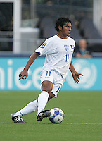 Mariano Acevedo dribbles the ball. Honduras defeated Haiti 1-0 during the First Round of the 2009 CONCACAF Gold Cup at Qwest Field in Seattle, Washington on July 4, 2009.