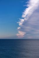 Ocean and sky, Atlantic Ocean, USA