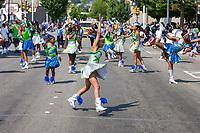 Washington Diamonds Drill Team, Renton River Days Parade, Renton, WA, USA.