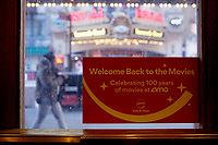 New York City Cinemas Reopen After a Year