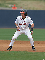 Greg Miclat of the Virginia Cavaliers vs. the Miami Hurricanes:  March 24th, 2007 at Davenport Field in Charlottesville, VA.  Photo By Mike Janes/Four Seam Images