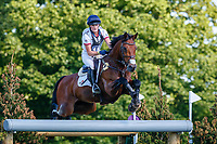 GBR-Bubby Upton rides Cola III during the Cross Country for the CCI-L 4*U25. Interim-1st. 2021 GBR-Bicton International Horse Trials. Devon. Great Britain. Saturday 12 June. Copyright Photo: Libby Law Photography