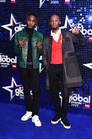 Bugsey and Young T<br /> arriving for the Global Awards 2020 at the Eventim Apollo Hammersmith, London.<br /> <br /> ©Ash Knotek  D3559 05/03/2020