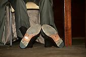 Tom Lovejoy's shoes.