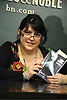 """E L James at her Book Signing for """"Fifty Shades of Grey"""" .on May 10, 2012 at Barnes & Noble's Union Square in New York City."""