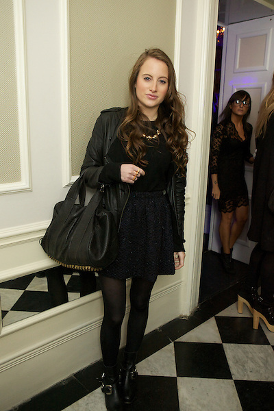 Rosie Fortescue from Made in Chelsea at The Beulah party at Dorsia, South Kensington, London