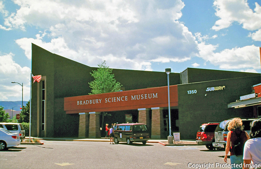 The Bradbury Science Museum is the chief public facility of Los Alamos National Laboratory, located at 1350 Central Avenue in Los Alamos, New Mexico, in the United States. It was founded in 1953, and was named for the Laboratory's second director (1945-1970), Norris E. Bradbury. Among the museum's early exhibits, artifacts and documents from World War II Manhattan Project were displayed upon declassification.