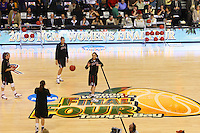 6 April 2008: Stanford Cardinal Ashley Cimino, Morgan Clyburn, Kayla Pedersen, and Jayne Appel during Stanford's 82-73 win against the Connecticut Huskies in the 2008 NCAA Division I Women's Basketball Final Four semifinal game at the St. Pete Times Forum Arena in Tampa Bay, FL.