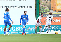7th February 2021; Fountain of Youth Stadium Hamilton, South Lanarkshire, Scotland; Scottish Premiership Football, Hamilton Academical versus Rangers; Ross Callachan of Hamilton Academical celebrates after he makes it 1-1 in the 94th minute of the match to snatch a point for Hamilton