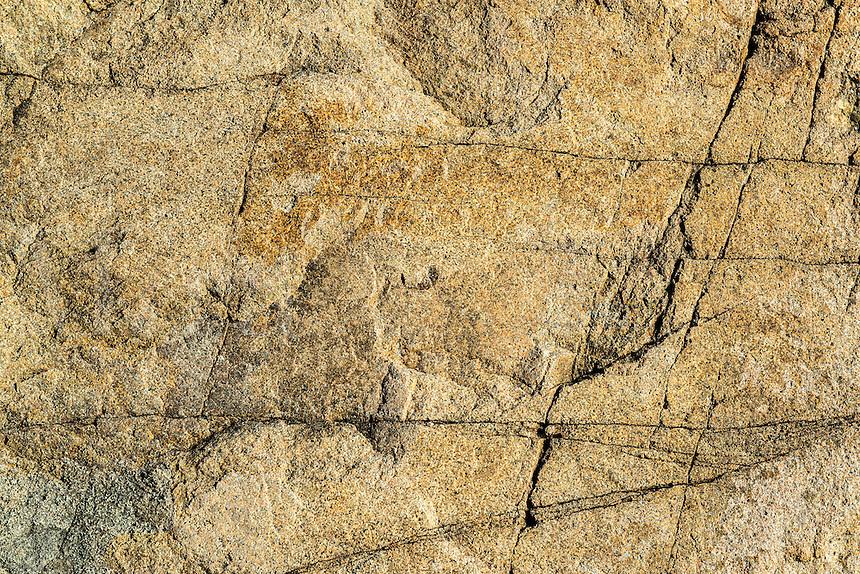 Raw granite detail.