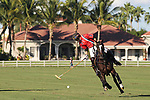 WELLINGTON, FL - NOVEMBER 25: Carlitos Gracida, USA, controls the ball as Team USA  defeats Team Brazil 9 - 7 in the final of the USPA International Cup at the Grand Champions Polo Club, on November 25, 2017 in Wellington, Florida. (Photo by Liz Lamont/Eclipse Sportswire/Getty Images)