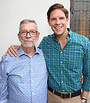 Sam Rudy and Frank Dilella attend the Retirement Celebration for Sam Rudy at Rosie's Theater Kids on July 17, 2019 in New York City.