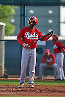 Cincinnati Reds Zach Shields (21) during an instructional league game against the Cleveland Indians on October 17, 2015 at the Goodyear Ballpark Complex in Goodyear, Arizona.  (Mike Janes/Four Seam Images)