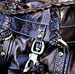 Leather Handbag. Rabat Handbags, 24th Street, San Francisco, California