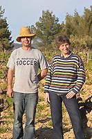 Agnes Henry-Hocquard, owner and responsible for the wines and the winemaker Domaine de la Tour du Bon Le Castellet Bandol Var Cote d'Azur France
