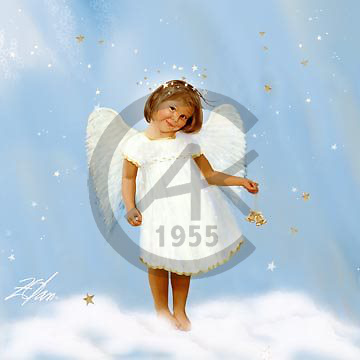 Donald, CHILDREN, paintings, Angelic Bells, USZO88,#k# Kinder, niños, illustrations, pinturas angels ,everyday