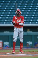 Jay Allen II (69) of the ACL Reds during a game against the ACL Cubs on September 17, 2021 at Sloan Park in Mesa, Arizona. (Tracy Proffitt/Four Seam Images)