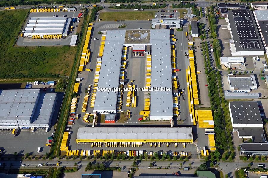 Postverteilzentrum Allermoehe: EUROPA, DEUTSCHLAND, HAMBURG, (EUROPE, GERMANY), 12.06.2015: Postverteilzentrum Allermoehe