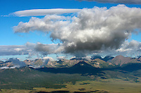 Sangre de Cristo Mountains from the Wet Valley looking west.  July 29, 2013.  80558