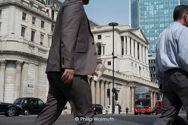 Bank of England, Threadneedle Street, City of London.