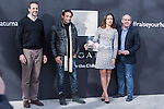 The ambassador of Bvlgari-Save the Children, Jordi Molla and Hiba Abouk, visits for the new center for children at risk of social exclusion of Save the Children in the district of Vallecas, in Madrid, financed by Bvlgari, January 03 2017. (ALTERPHOTOS/Rodrigo Jimenez)