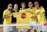 18-9-07, Rotterdam, Daviscup NL-Portugal, training