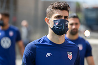 SANDY, UT - JUNE 8: Christian Pulisic of the United States during a training session at Rio Tinto Stadium on June 8, 2021 in Sandy, Utah.