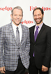 Stephen Bogardus and Jonathan Kaplan attends the Opening Night After Party for 'Falsettos'  at the New York Hilton Hotel on October 27, 2016 in New York City.