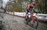 Annemarie Worst (NED/777)<br /> <br /> 2021 Flandriencross Hamme (BEL)<br /> women's race<br /> <br /> ©kramon