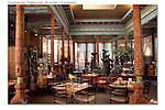 Dushanbe teahouse, interior, Boulder, Colorado.