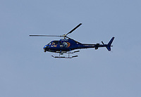 ABC 7 News Helicopter. Mavericks Surf Contest in Half Moon Bay, California on February 13th, 2010.