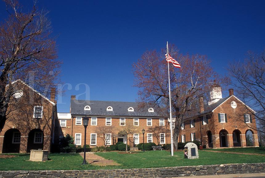 Fairfax, VA, Virginia, Courthouse in downtown Fairfax.