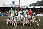 playonPROS (in blue navy) vs KCC Veterans  (in white and green), during their Masters Tournament match, part of the HKFC Citi Soccer Sevens 2017 on 27 May 2017 at the Hong Kong Football Club, Hong Kong, China. Photo by Chris Wong / Power Sport Images